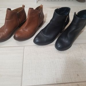 Lucky Brand and Style & Co booties